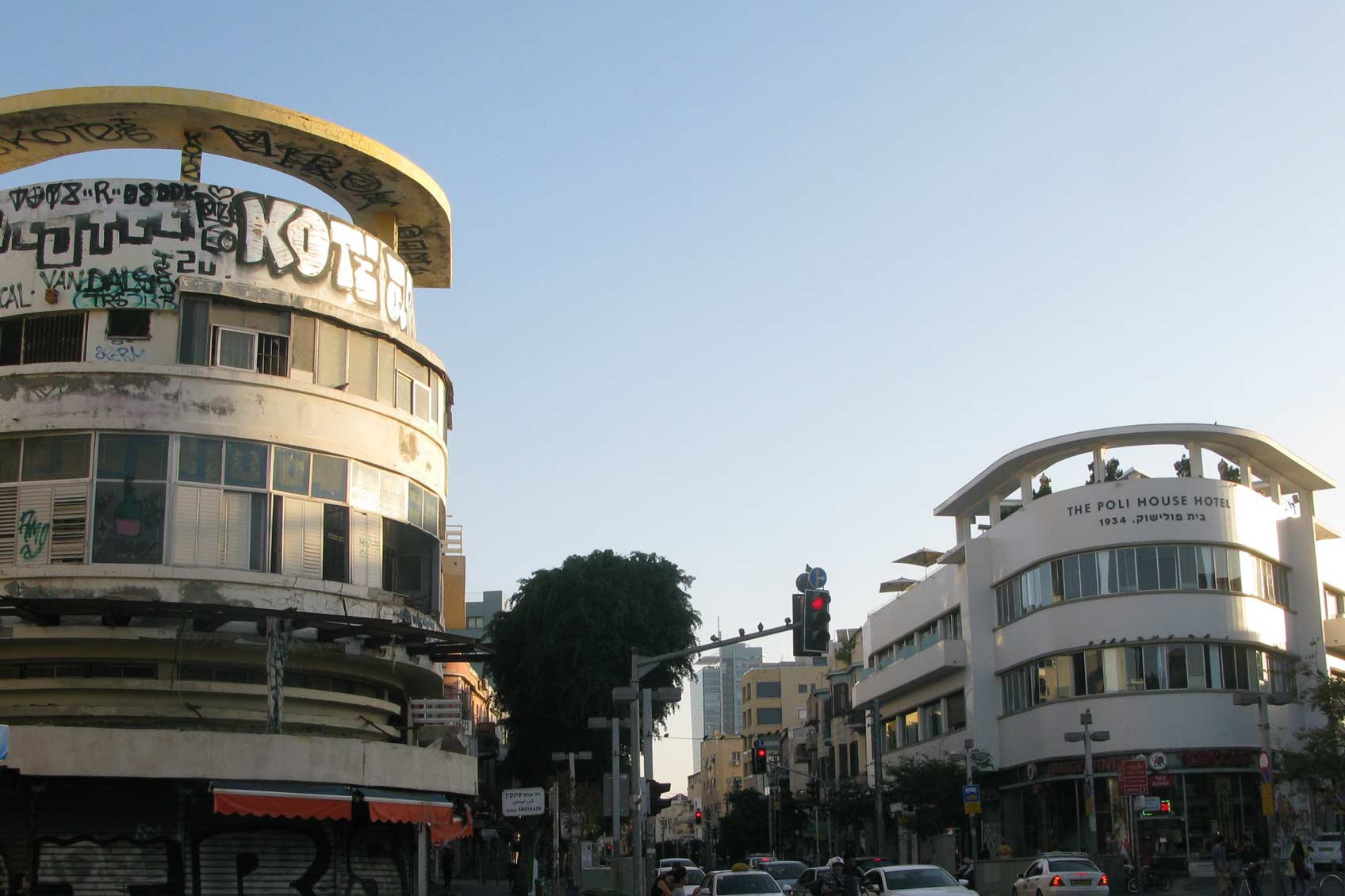 Bauhaus Tel Aviv new and old White City ©meierei