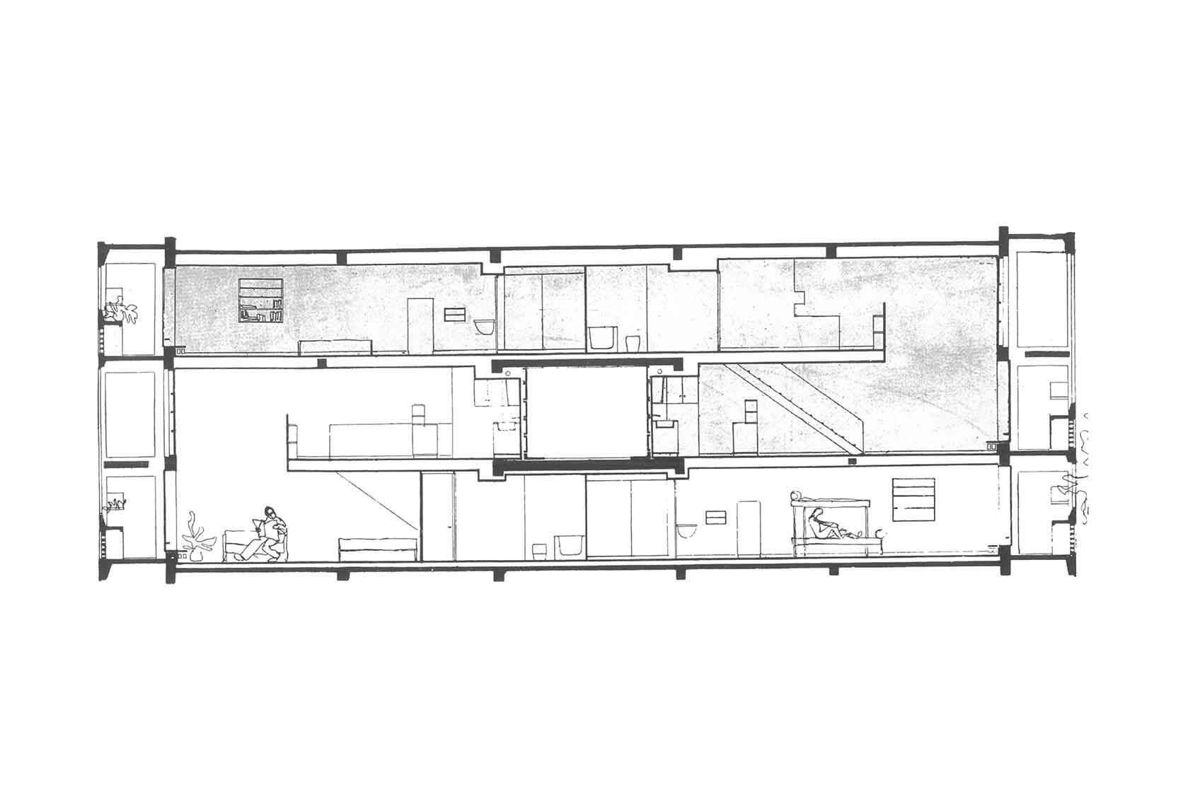 Le Corbusier S Residential Unit Type Berlin