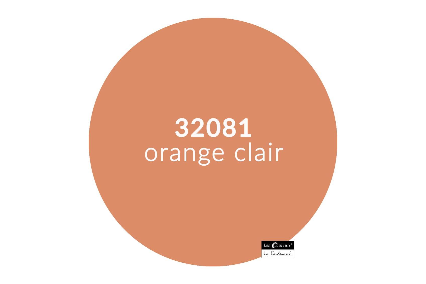 ©Les Couleurs Le Corbusier - 32081 orange clair