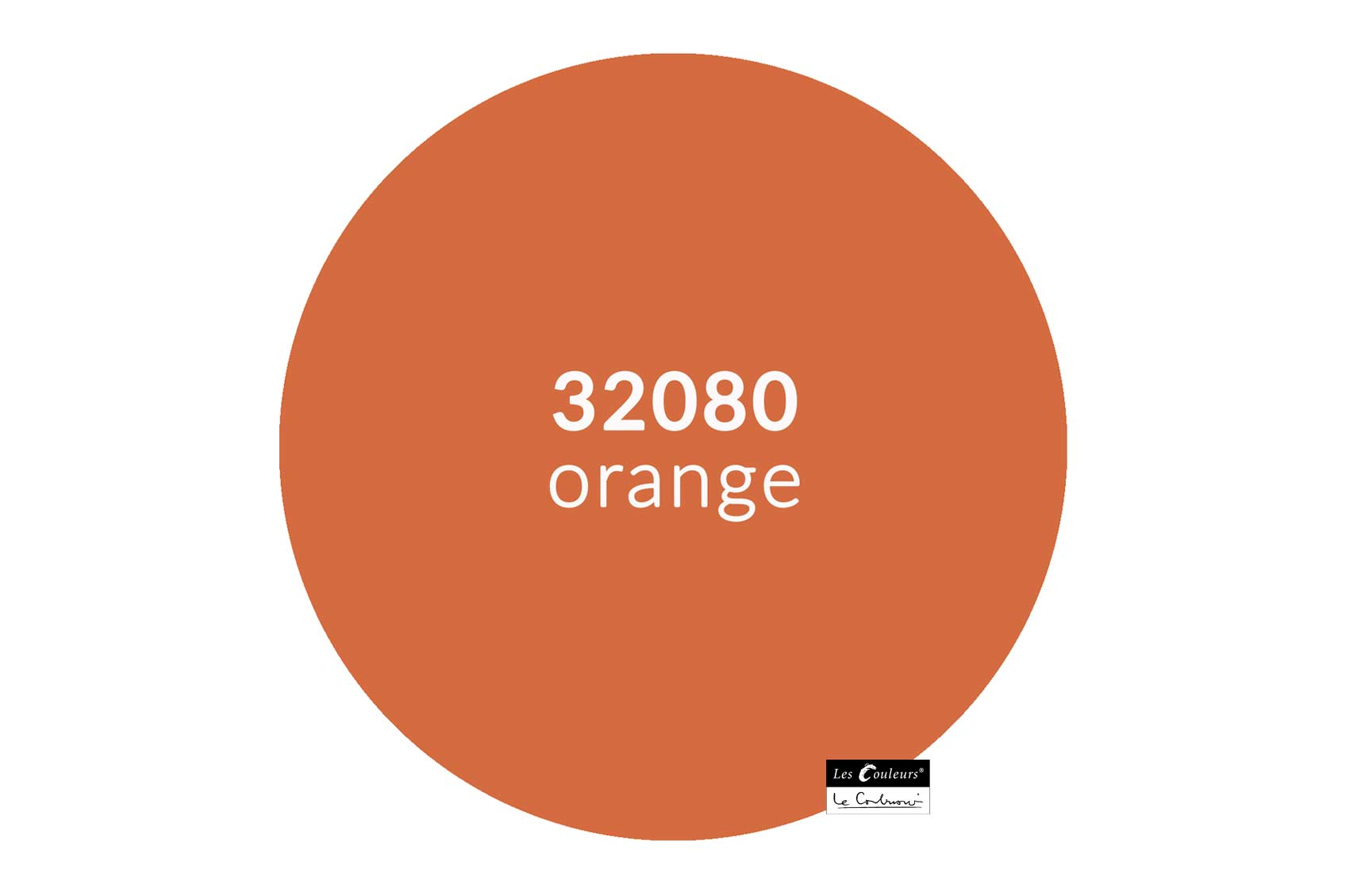 ©Les Couleurs Le Corbusier - 32080 orange