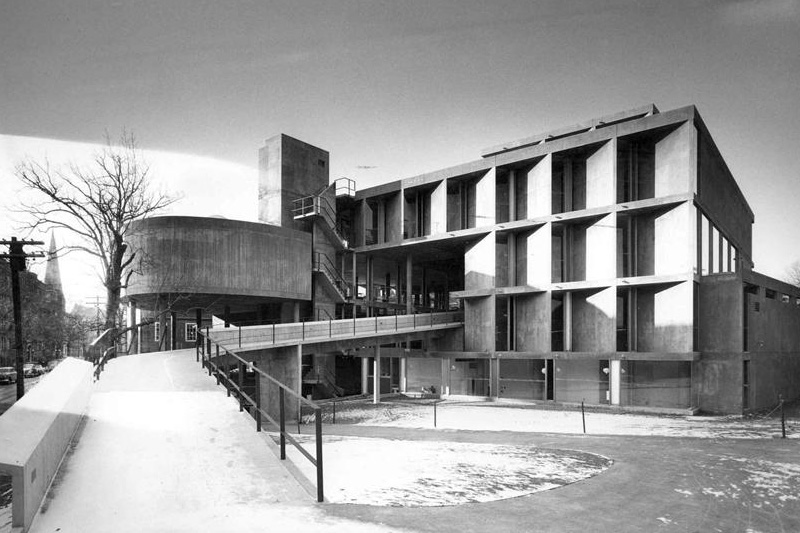 Carpenter Center for Visual Arts, Cambridge, 1961