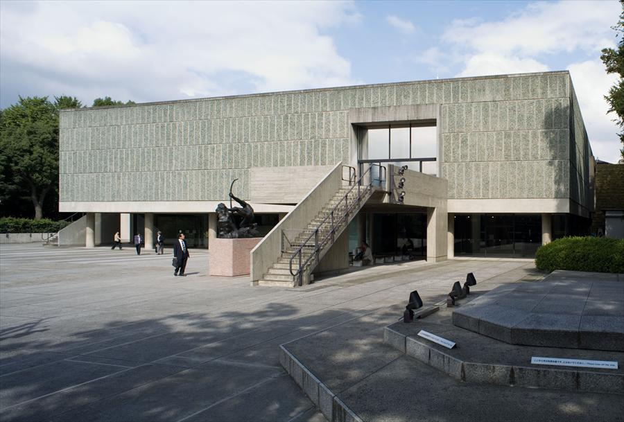 Musée National d'Art Occidental, Tokyo, 1957
