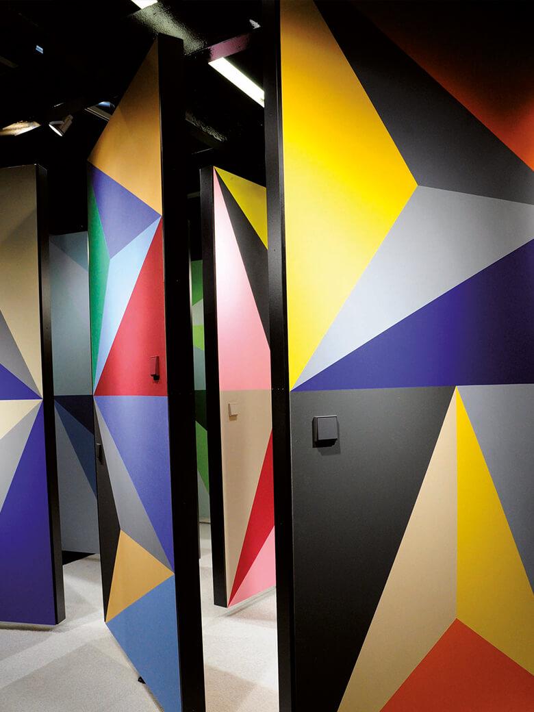 Keim Farben keimfarben le corbusier mineral wall paint