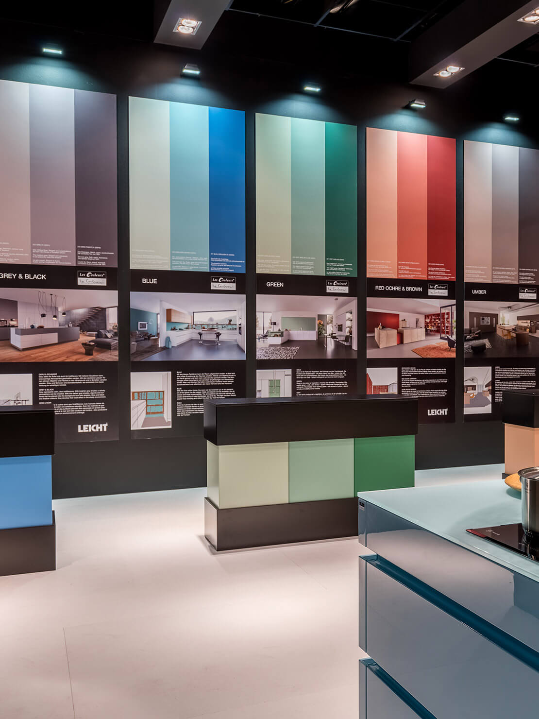 leicht le corbusier designk chen hochwertige k chen. Black Bedroom Furniture Sets. Home Design Ideas