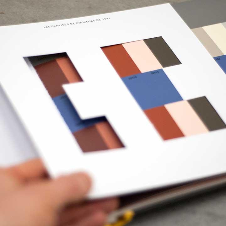 Le Corbusier Farben - Polychromie Architecturale & Farbenklaviaturen